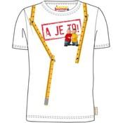 T-shirt Buurman en Buurman: wit