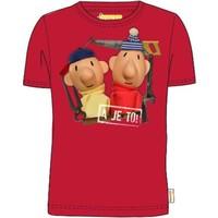 Buurman en Buurman T-shirt Buurman en Buurman: rood