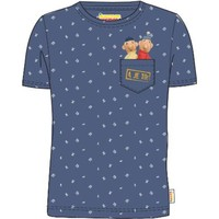 Buurman en Buurman T-shirt Buurman en Buurman: blauw