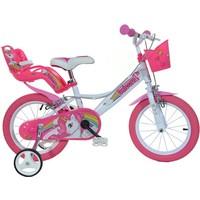 Kinderfiets Dino Bikes eenhoorn: 14 inch