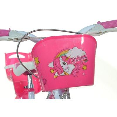 Dino Bikes Kinderfiets Dino Bikes eenhoorn: 16 inch
