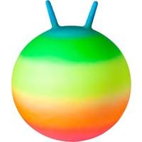 Skippybal John regenboog neon: 45 cm