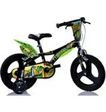 Dino Bikes Kinderfiets Dino Bikes dinosaurus: 14 inch