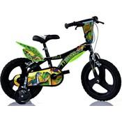 Kinderfiets Dino Bikes dinosaurus: 14 inch