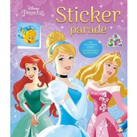 Stickerboek Princess: sticker parade