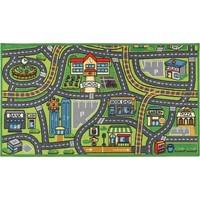Vloerkleed Town: 190x133 cm