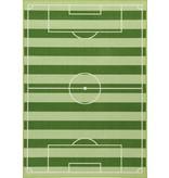 Non-License Vloerkleed Football: 140x80 cm