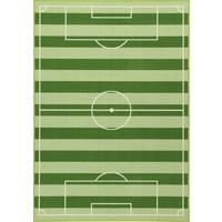 Vloerkleed Football: 190x133 cm