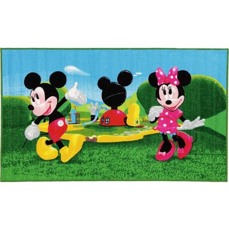 Mickey Mouse Vloerkleed Mickey Mouse Clubhouse: 140x80 cm