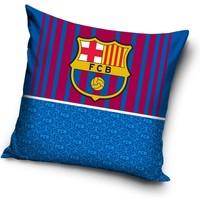Kussen barcelona rood/blauw: 40x40 cm