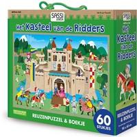 Boek + puzzel Sassi: Kasteel 60 stukjes