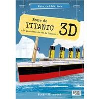 Boek Sassi: Bouw de Titanic 3d