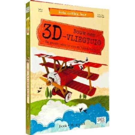 Sassi Boek Sassi: Bouw een vliegtuig 3d