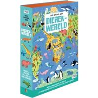 Boek + puzzel Sassi: Dierenwereld 200 stukjes