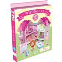 Boek Sassi: Bouw een poppenhuis 3d