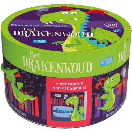 Sassi Boek + puzzel Sassi: Drakenwoud 30 stukjes