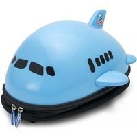 Rugzak Ridaz Airplane blauw: 34x33x19 cm