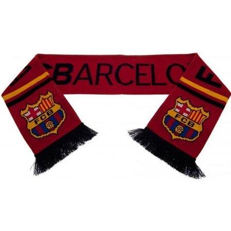 Barcelona FC Sjaal barcelona rood logo