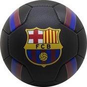 Bal barcelona leer groot zwart stripes