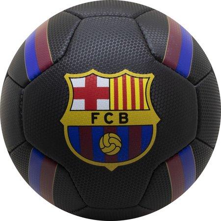 Barcelona FC Bal barcelona leer groot zwart stripes