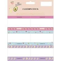 Etiketten Fashionchick: 18 stuks