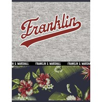 Schrift Franklin and Marshall Boys A4 geruit