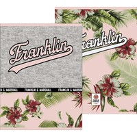 Schrift Franklin and Marshall Girls A5 gelijnd: 3-pack