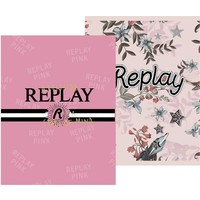 Schrift Replay Girls A5 gelijnd: 3-pack