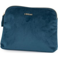 Make-up tas Supertrash blauw 23x17x4 cm