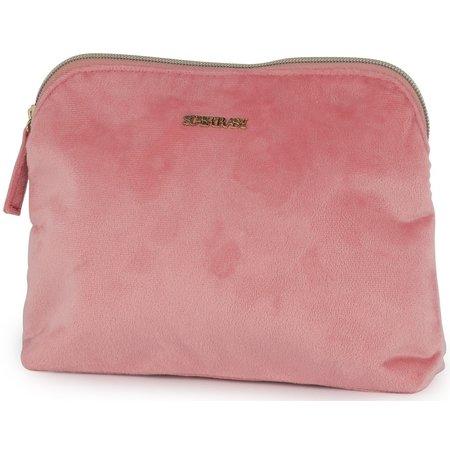 Supertrash Make-up tas Supertrash roze 23x17x4 cm