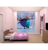 Frozen Disney Frozen Stickerbehang Mural Walltastic: 245x185 cm