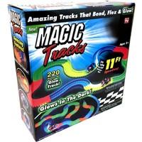 Magic Tracks met LED: glow in the dark 220-delig