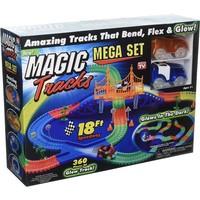 Magic Tracks met LED: glow in the dark 360-delig