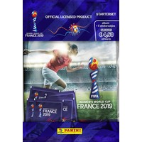Panini sticker starterpack FIFA Women`s Worldcup 2019