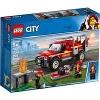 Reddingswagen van brandweercommandant Lego
