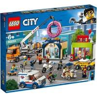 Opening donutwinkel Lego