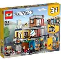 Woonhuis & dierenwinkel & cafe Lego