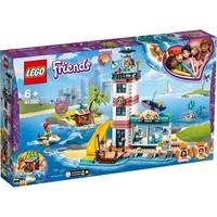 Reddingscentrum in de vuurtoren Lego