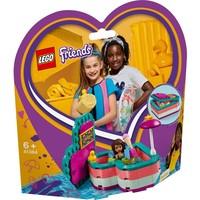 Andrea`s hartvormige zomerdoos Lego
