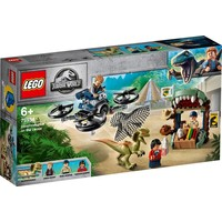 Dilophosaurus ontsnapt Lego
