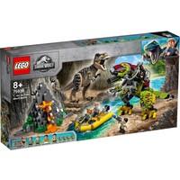 T. Rex vs Dinomecha gevecht Lego