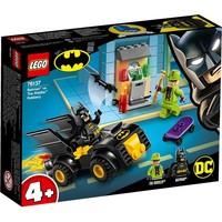 Batman vs de roof van The Riddler Lego