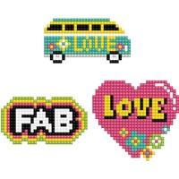 Stickerset Dotzies 3 stuks: Love