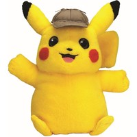 Pluche Pokemon Detective Pikachu: Talking Pikachu