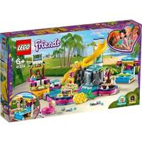 Andrea`s zwembadfeest Lego
