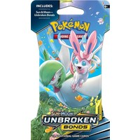 Pokemon booster SM10: Sun & Moon Unbroken Bonds sleeved