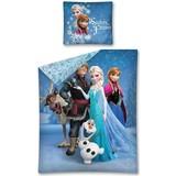 Dekbed Frozen: sisters forever 140x200/70x80 cm