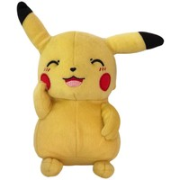Pluche Pokemon: Pikachu knipoog 30 cm