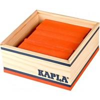 Kapla 40 stuks in kist oranje