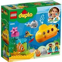 Avontuur met onderzeeer Lego Duplo